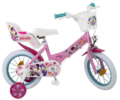 Bicicleta Minnie 14 polegadas Toimsa