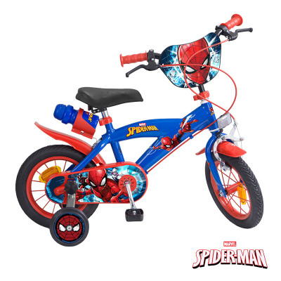 Bicicleta Toimsa Spiderman 12 polegadas