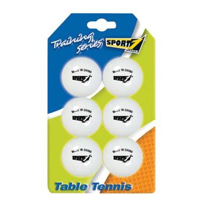 Blister com 6 Bolas Ping Pong Brancas