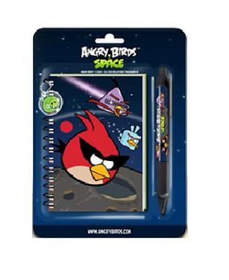 Bloco + Caneta Angry Birds