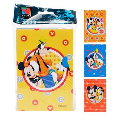 Bloco de anotações Disney de 30 folhas - Sortido
