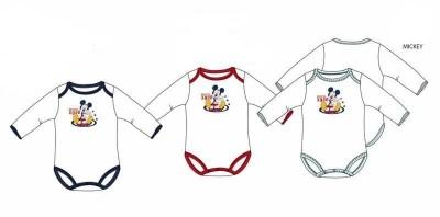 Body bebé Mickey disney manga comprida