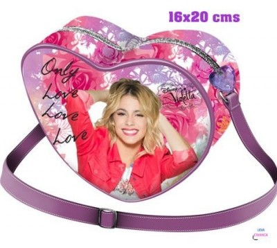 Bolsa Coração Violetta Only Love