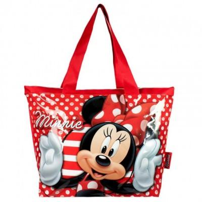 Bolsa praia Disney Minnie White Dots