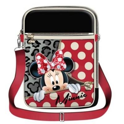 Bolsa Tablet Minnie - Zipper