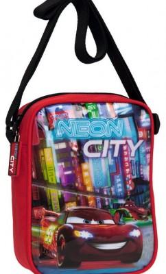 Bolsa tiracole Cars coleção neon city