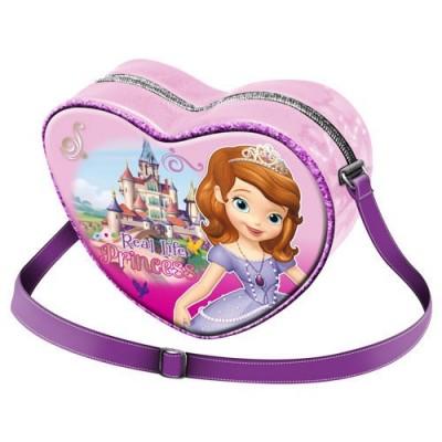 Bolsa Tiracolo Coração Princesa Sofia Castle