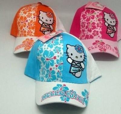 Boné Hello Kitty (100% algodão)