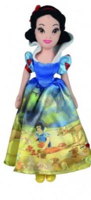 Boneca Peluche Branca Neve Princesas Disney 25cm