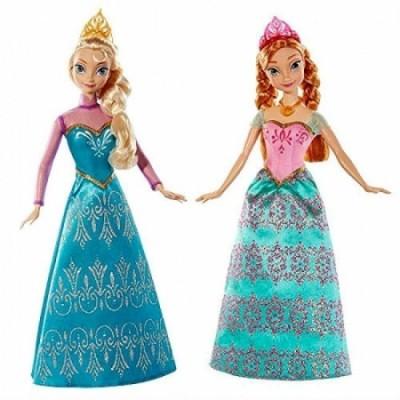 Bonecas Elsa e Anna Frozen