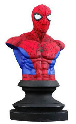 Busto Spiderman Marvel