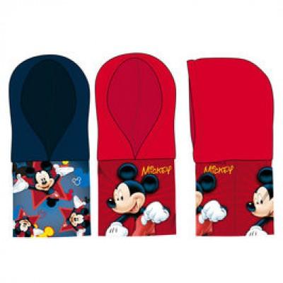 Cachecol Tubular c/ Capuz Mickey