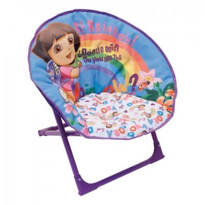 Cadeira Oval Dora Exploradora 50x50cm