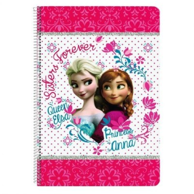 Caderno Disney Frozen