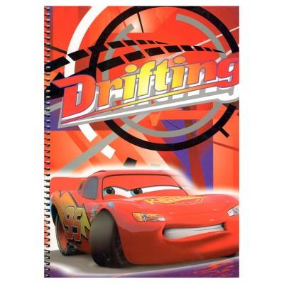 Caderno Mc Queen Cars Disney A4 Sortidos
