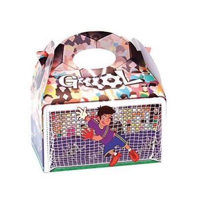 Caixa brindes Festa Futebol