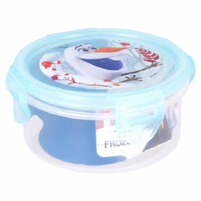 Caixa Recipiente Redondo Frozen 2 - 270ml