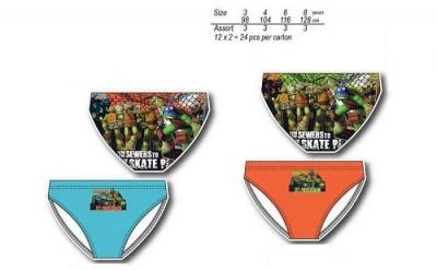 Calção banho Tartarugas Ninja (pack 24)