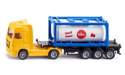 Camião c/Reboque e Tanque Siku