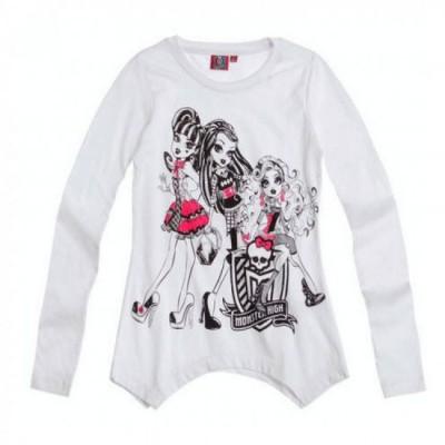 Camisola manga comprida protagonistas Monster High
