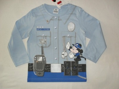 Camisola Sweat Disney luxo mickey policia
