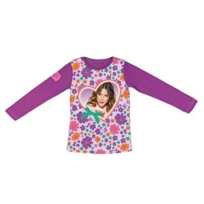 Camisola Violetta Flowers