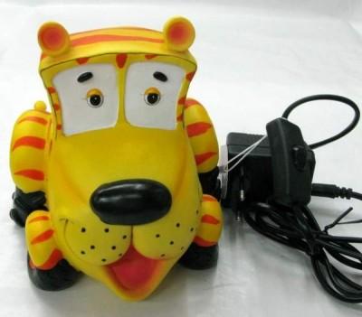 Candeeiro infantil carro tigre