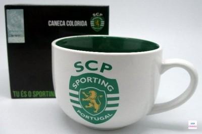 Caneca Almoçadeira Sporting