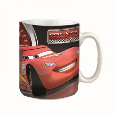 Caneca cerâmica Disney Cars c/ caixa oferta
