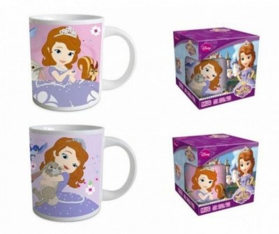 Caneca cerâmica Disney Princesa Sofia