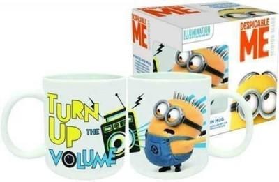 Caneca cerâmica Turn up volume Minions