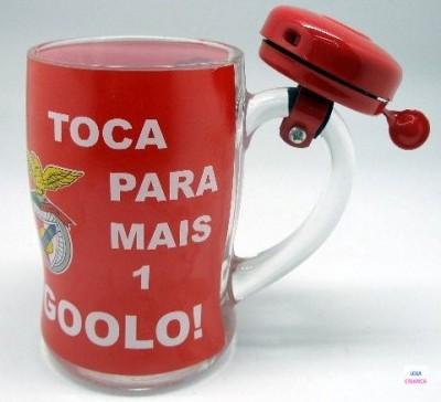 Caneca com campainha Benfica