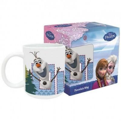 Caneca Disney Frozen Ceramica Olaf