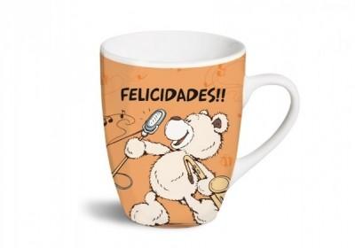 Caneca Nici Funcy Mugs - Felicidades