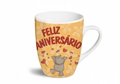 Caneca Nici Funcy Mugs «Feliz Aniversário !»