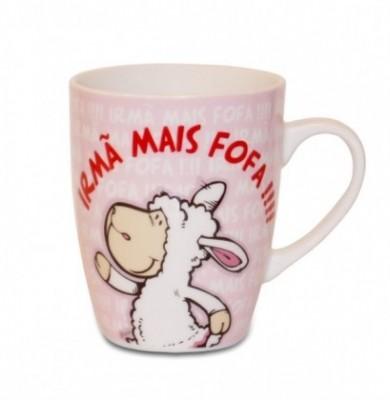 Caneca Nici Funcy Mugs «Irmã Mais Fofa !!!!»