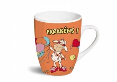 Caneca Nici Funcy Mugs «Parabéns !»