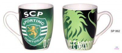 Caneca Oval Sporting SCP