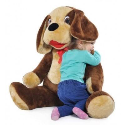 Cãozinho de Peluche Grande 110cm