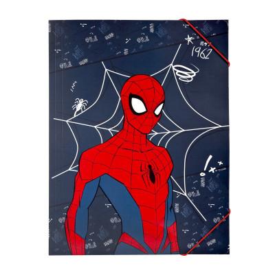 Capa A4 Elásticos Spiderman 1962