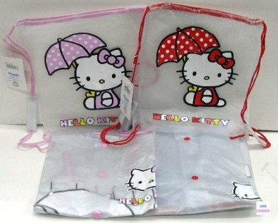 Capa de chuva c/bolsa Hello Kitty