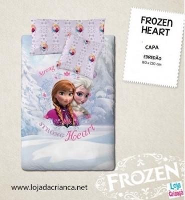 Capa de Edredão Frozen Heart