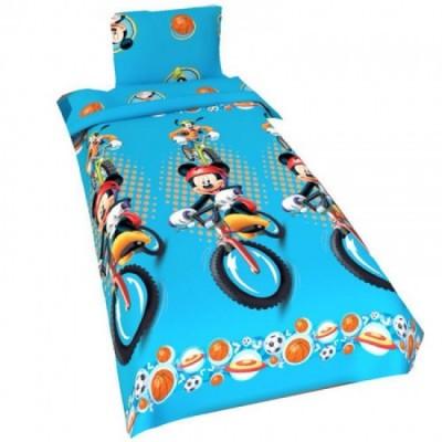Capa de Edredon Azul Mickey 140x200cm