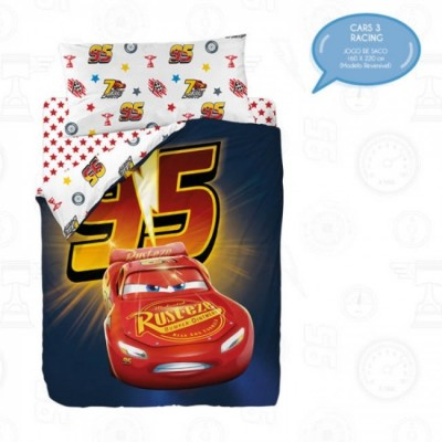 Capa de Edredon Cars 3 - Racing (Solteiro)