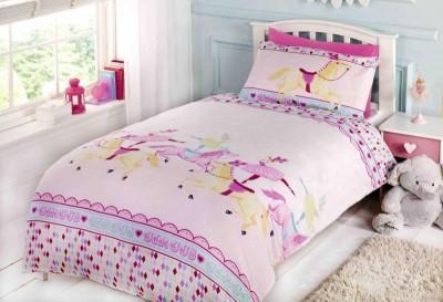 Capa de edredon e almofada Carrocel cama de grades