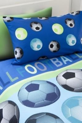 Capa de Edredon e Almofada Futebol Solteiro