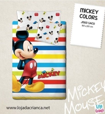 Capa de Edredon Mickey Colors