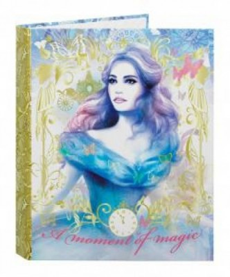Capa dossier A4 Princesa Disney Cinderela Gold