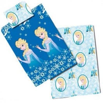 Capa Edredon + Fronha Frozen Elsa