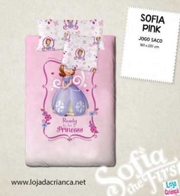 Capa Edredon Princesa Sofia Pink